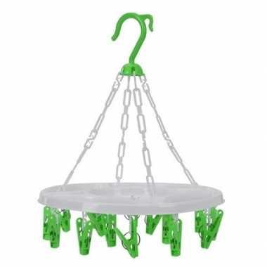 Droogcarrousel groen knijpers
