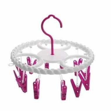 Droogcarrousel roze knijpers