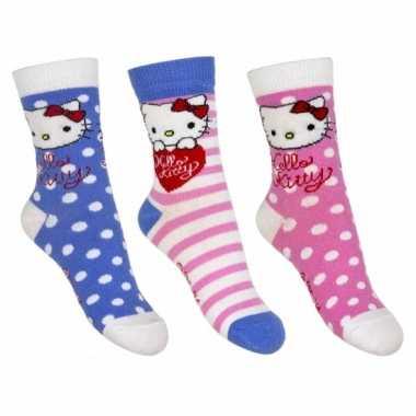 Hello kitty meisjes sokken pak nr