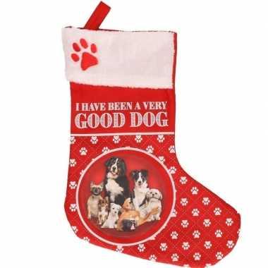 Honden kerstsokken i have been a very good dog