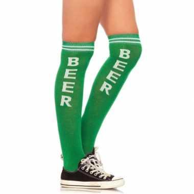 Kniekousen Bier groen