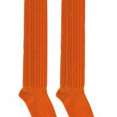 dd293ba4516 Oranje lange feest sokken