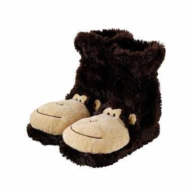 Pantoffel sokken aap
