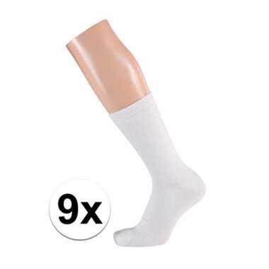Witte dames sokken paar maat /