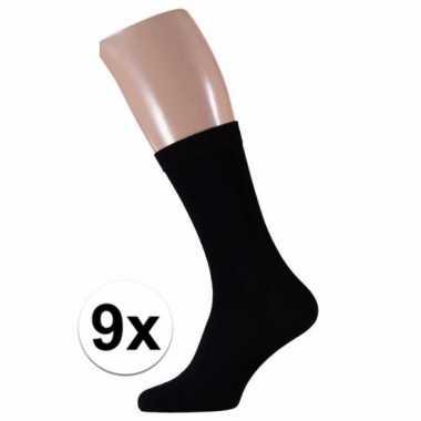 Zwarte heren sokken paar maat /