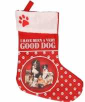 Honden kerstsokken i have been a very good dog