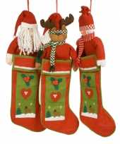 Luxe kerstsok rendier